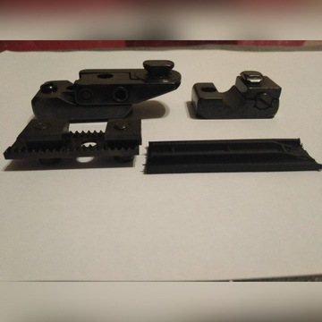 Swarovski montaż na szynę typu SR Swarovski