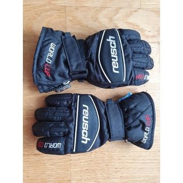Rękawiczki narciarskie śniegowe dziecięce Reusch
