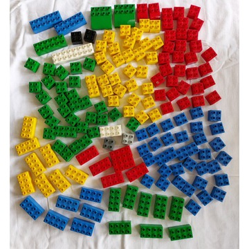 LEGO Duplo miks klocków do budowania 174 szt
