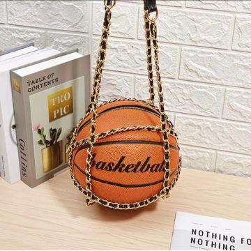 Torebka dziewczęca - piłka koszykowa, koszykówka