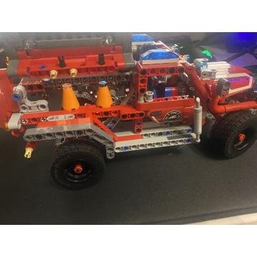 Wóz strażacki Lego technic