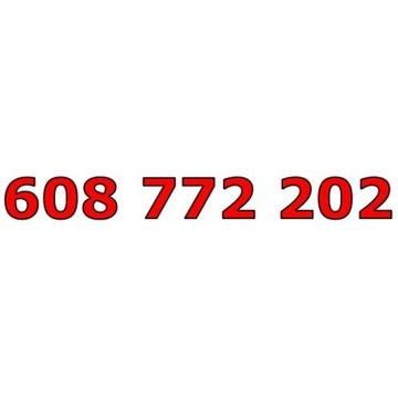 608 772 202 T-MOBILE ZŁOTY ŁATWY NUMER STARTER