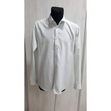 H&M koszula męska biała klasyczna roz XL 43/44