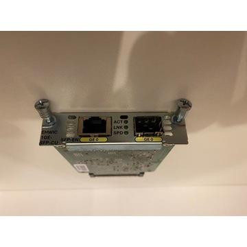 KARTA ROZSZERZEŃ CISCO EHWIC-1GE-SFP-CU SFP GE 1G