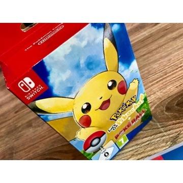 Gra Pokemon Let's go Pikachu!+Poke Ball Nintendo