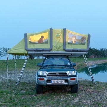 GT Sky Loft - Pompowany namiot dachowy 49kg HIT!