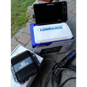Lowrance HDS 9 Live + StructureScan 3D