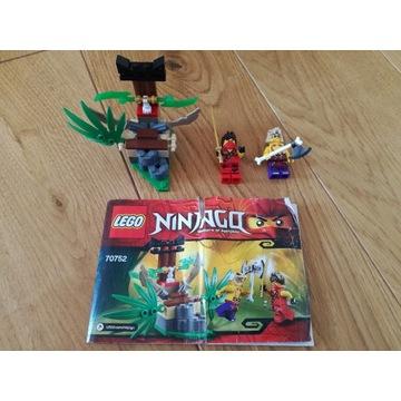 LEGO Ninjago 70752 Pułapka w dżungli