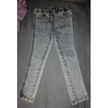 Spodnie dziewczęce roz.104