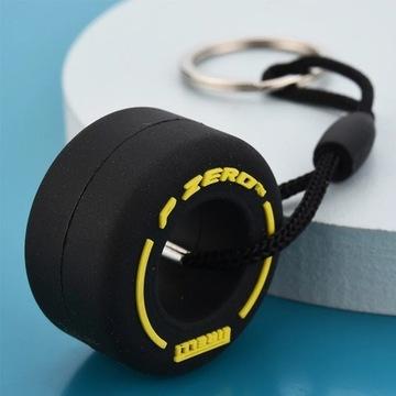 Breloczek brelok do kluczy opona F1 Pirelli żółta