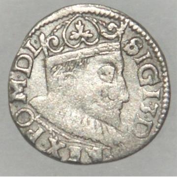 3 Grosze ZYGMUNT III WAZA  1604