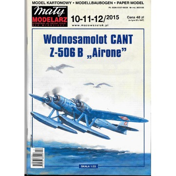 Mały modelarz 10-11-12 2015 CANT model 1:33