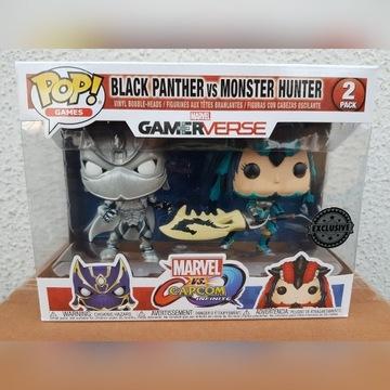 Figurka Funko Pop: Black Panther vs Monster Hunter