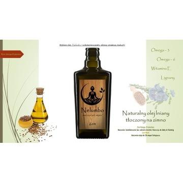 Organiczny olej lniany - diety dr Budwig Promocja!