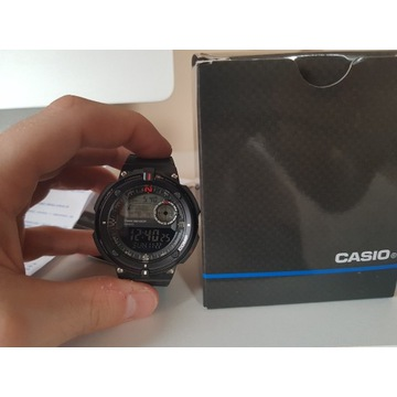 Zegarek Casio SGW-600H-1BER - Stan idealny, GW-2,5