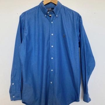 Niebieska męska koszula polo Ralph Lauren xl