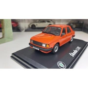 Skoda 120L  ABREX 1/43  Pomaranczowa Orange model