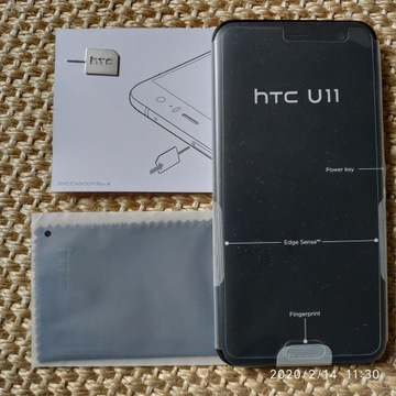 HTC U11 4/64GB DualSIM Brilliant Black PL na GWAR