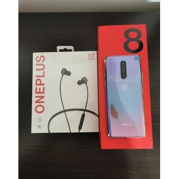 Idealny Oneplus 8 5G 12/256 + NOWE Oneplus Bullets