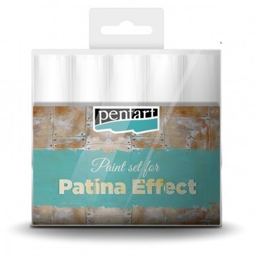 Patina Effect - Zestaw Pentart do patyny - 5 szt