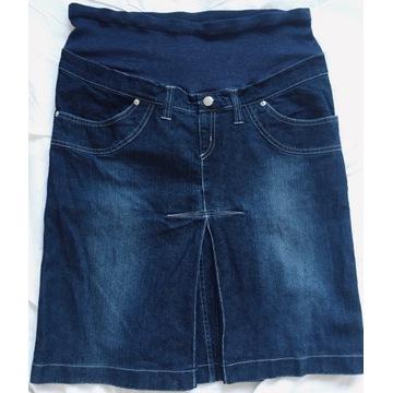 Spódnica ciążowa jeans, rozm. L/XL