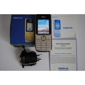 Ładna Nokia C2-01 każda sieć komplet stan BDB