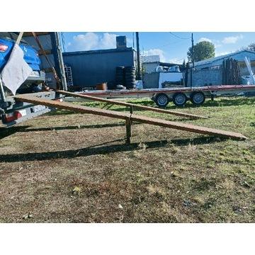 Najazdy stalowe mocne rozkładane  4.5 m