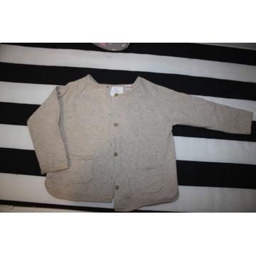 Sweterek ZARA dziewczynka 12-18 miesięcy wiosna
