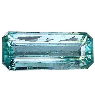 NATURALNY Niebiesko zielony APATYT 1,08 ct VS