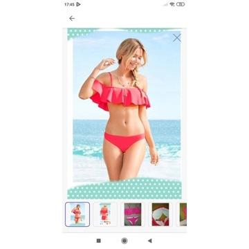 Bikini z falbanką