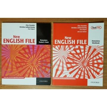 New ENGLISH FILE Elementary Workbook + Student's B