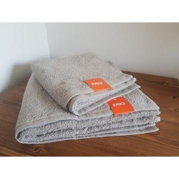 2 nowe ręczniki Faro wymiar 50x100 i 70x140 100% b