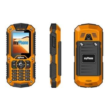 Pancerny Telefon komórkowy myPhone Hammer IP-67
