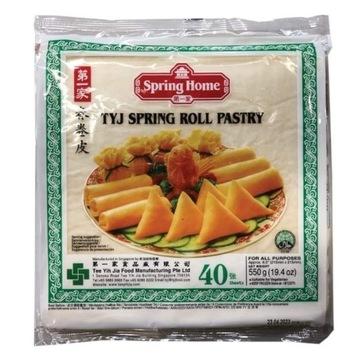 Ciasto do sajgonek i spring rolls