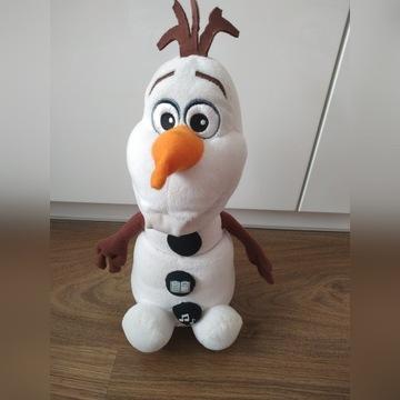 Olaf opowiadający bajki śpiewa piosenki