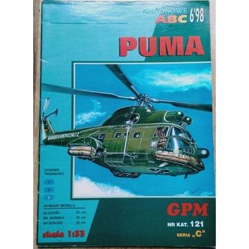 Śmigłowiec Puma GPM 121 1998/06 w skali 1/33