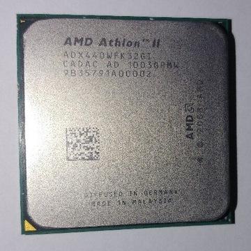 AMD ATHLON II X3 440 3x3ghz / 4x3ghz