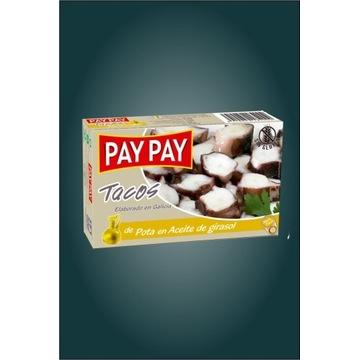 Ośmiornice tacos Pota w sosie własnym Pay Pay