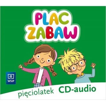 PLAC ZABAW KOMPLET CD AUDIO 5-LATEK WSiP