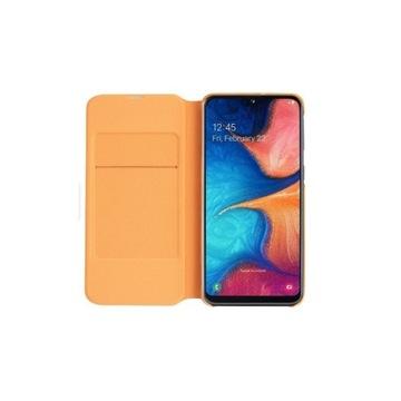 Etui białe zamykane wallet dla SAMSUNG Galaxy A20E