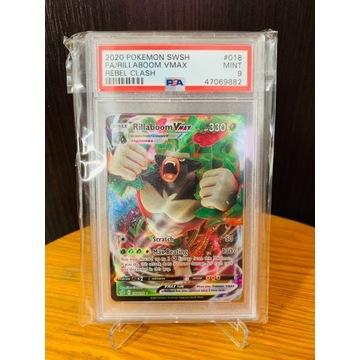 Pokemon TCG - Rillaboom VMAX - PSA 9 - Karta MINT!