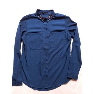 Koszula Mohito 34 niebieska - wspiera zbiórkę