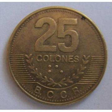 25 centavos Kostaryka Costa Rica
