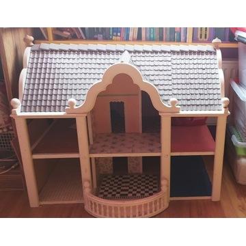Dom domek dla lalki barbie i inne willa piętrowy
