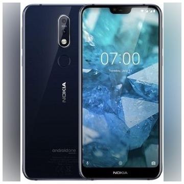NOKIA 7.1, 32 GB, NOWY, gwarancja 24 m-ce, FV 23%