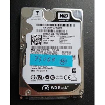 WD 750GB 2.5