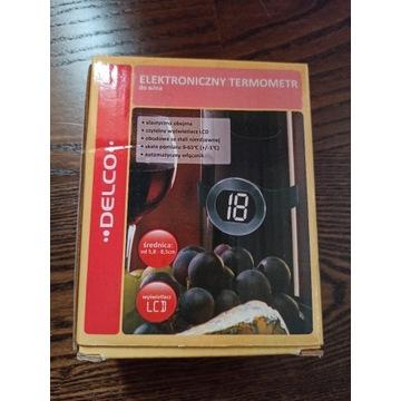 Elektroniczny termometr do wina LCD prezent wino