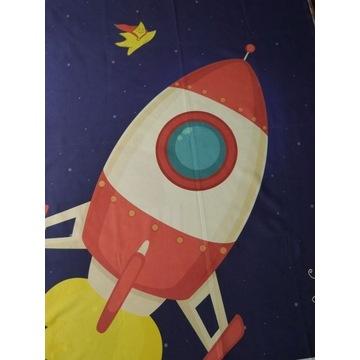 Panele na pościel rakieta bawełna premium