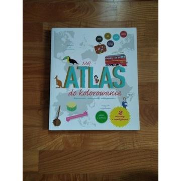 Mój atlas do kolorowania dla dzieci