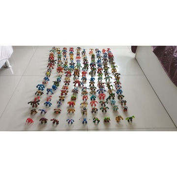 Mega kolekcja Gormiti 175 szt tanio